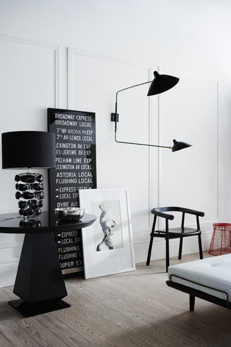 lerche design ugens anbefaling uge 17 serge mouille lampe. Black Bedroom Furniture Sets. Home Design Ideas